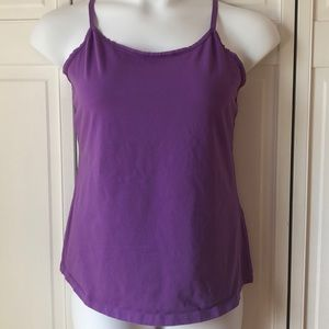 Lane Bryant light purple cotton camisole, 14/16